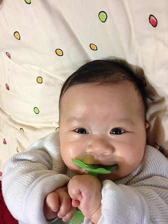 (3m,绿色小花花走进小宝贝的生命) 小宝宝什麼时候才能用固齿器咧