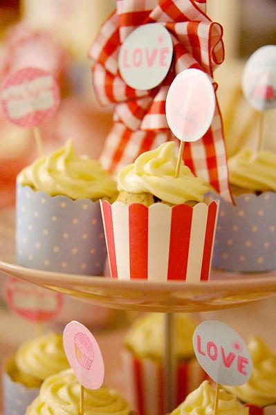 简单的巧克力蛋糕瞬间变得好可爱阿!