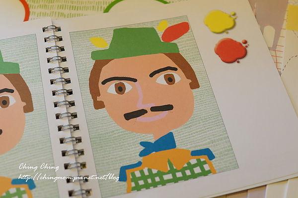 [晴晴私物分享]djeco手绘创意画像~利用玉米颜料来做手绘涂鸦
