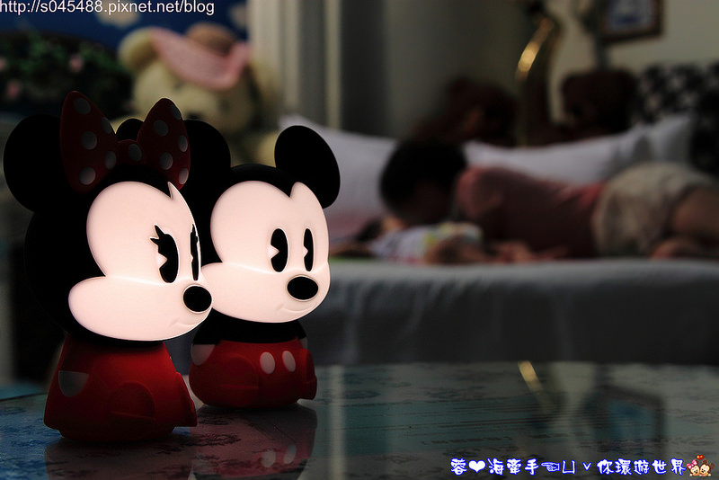 飞利浦迪士尼魔法灯 米奇&米妮led可携式床边灯大人小孩都爱不释手的