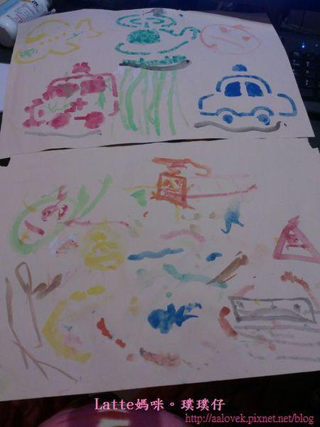 幼儿水彩画