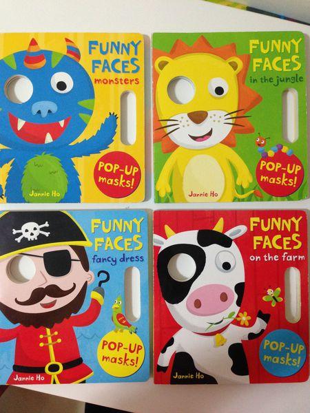 儿童手工制作鼻子面具