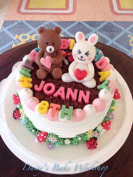给小朋友难忘的客制化生日蛋糕~冰雪奇缘造型蛋糕