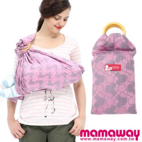 Mamaway 米奇萬花筒育兒揹巾(粉紅)