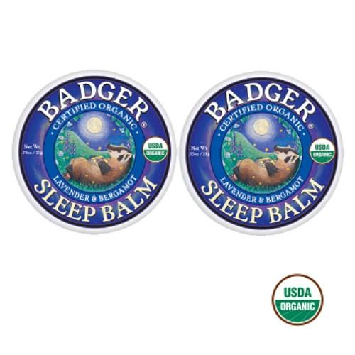 BADGER-美國USDA認證 舒眠膏21g-2入
