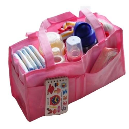 媽媽包內襯手提收納格 袋中袋 - 兩入