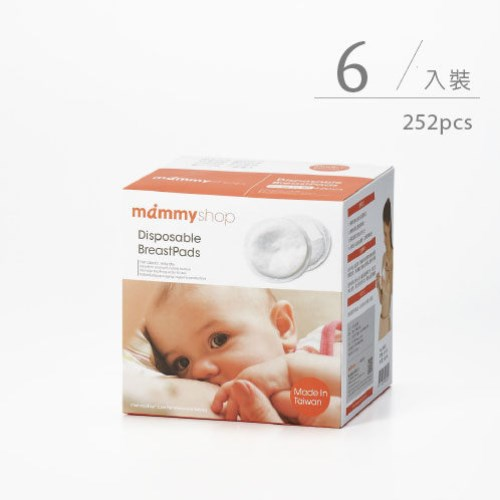 mammyshop 媽咪小站 - 防溢乳墊 單片無菌包裝 6盒組合 252片裝