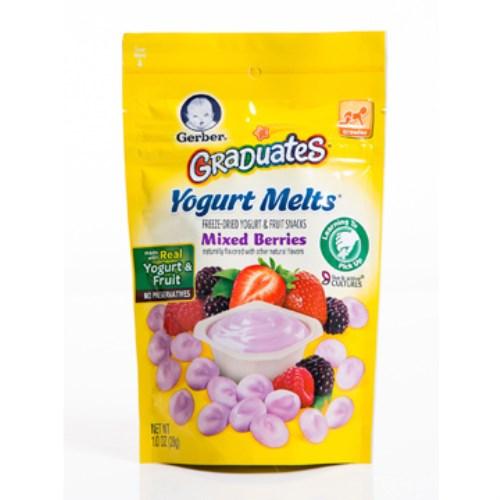 嘉寶 水果優格餅乾-綜合莓果(28g×7入)