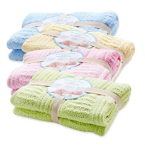 【奇哥】立體格紋柔舒毯 - 小(4色選擇)