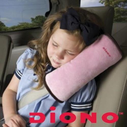 【美國Diono】安全帶保護靠枕-粉
