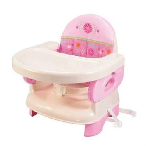 公司貨-Summer Infant可攜式活動餐椅(粉紅)